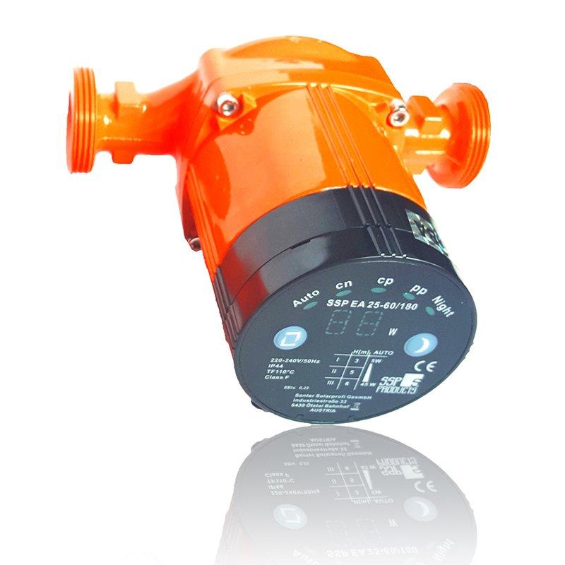 SSP Umwaelzpumpe 25-40 / 180mm Energieeffizienzklasse A