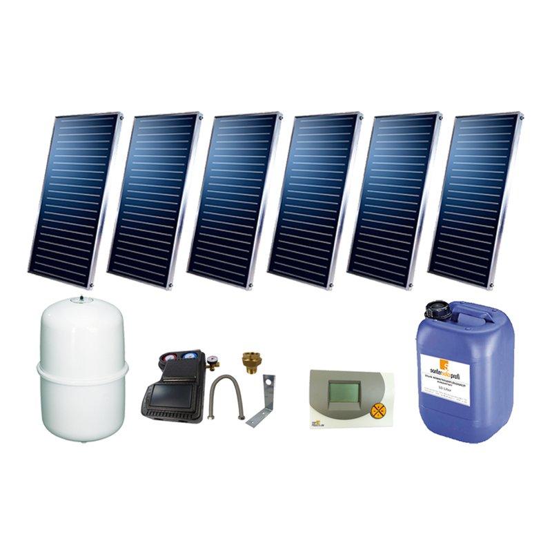 SSP Prosun Solarpaket 6, 6 Kollektoren Gesamtfläche: 12,12 m²