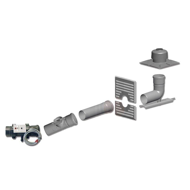 Basis-Set DN80-80 für Öl Brennwertgerät