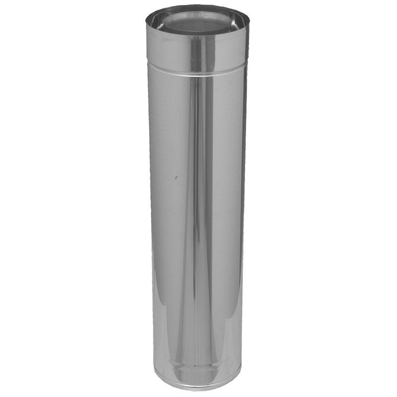 Gas /Öl und Pelletsystem Längenelement 265 mm
