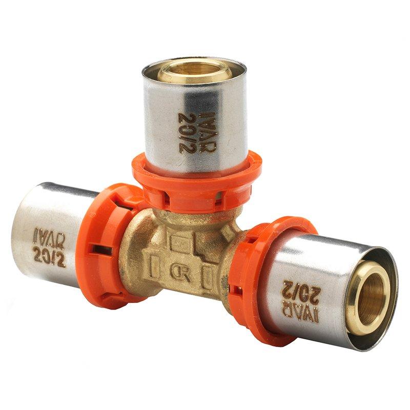 T-Stück SSP Press egal 40/3,5 x 40/3,5 x 40/3,5