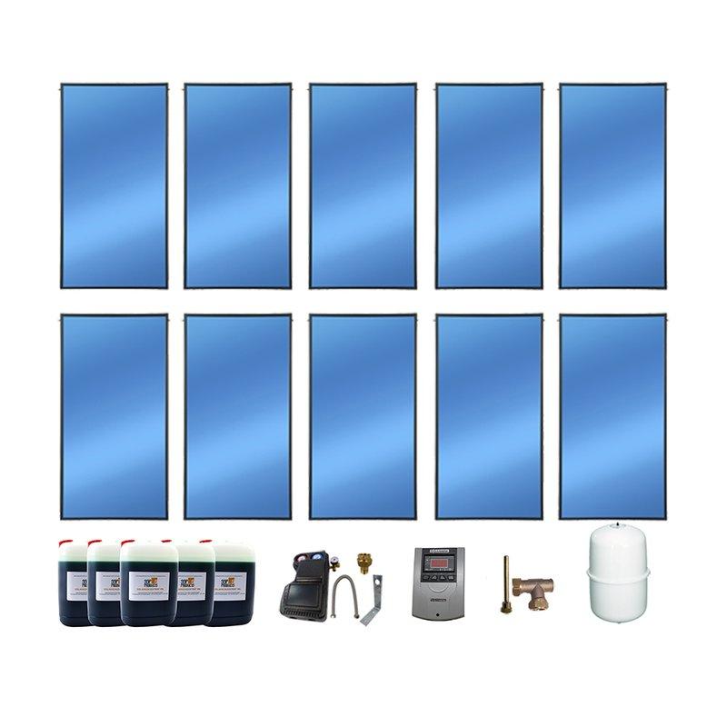 SSP Prosol 24 Solarpaket 10, 10 Kollektoren Gesamtfläche: 23,80 m²