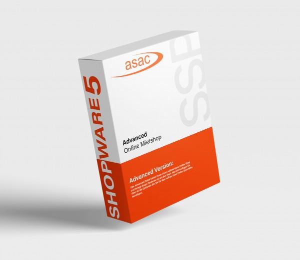 ADVANCED Online Mietshop / Shopware 5