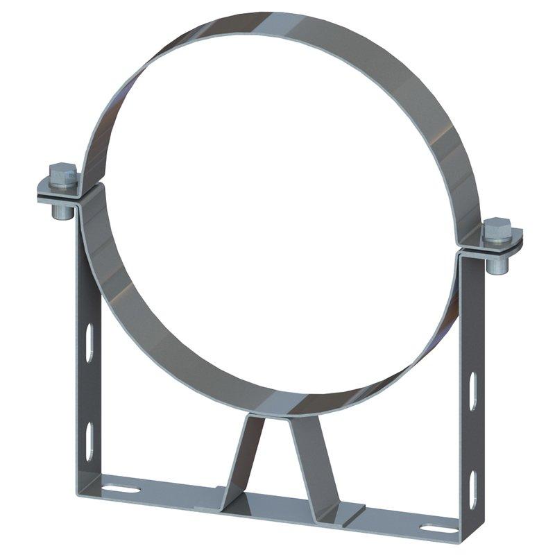 DW Wandbefestigung 70 - 120 mm Ø150