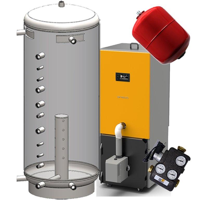 SSP Pellets Paket 2 20 kW