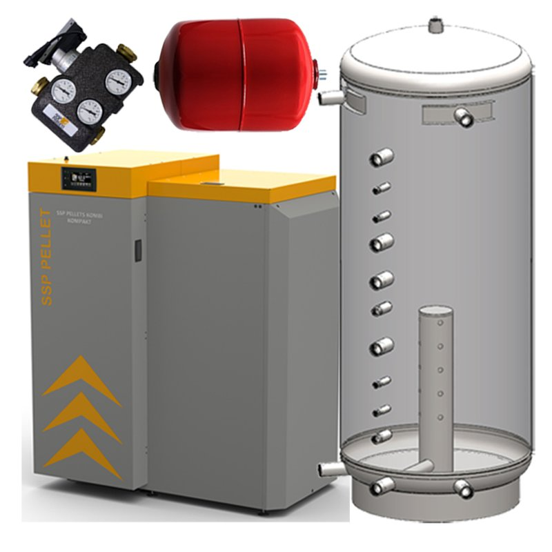 SSP Kombi Kompakt Paket 1 24 kW