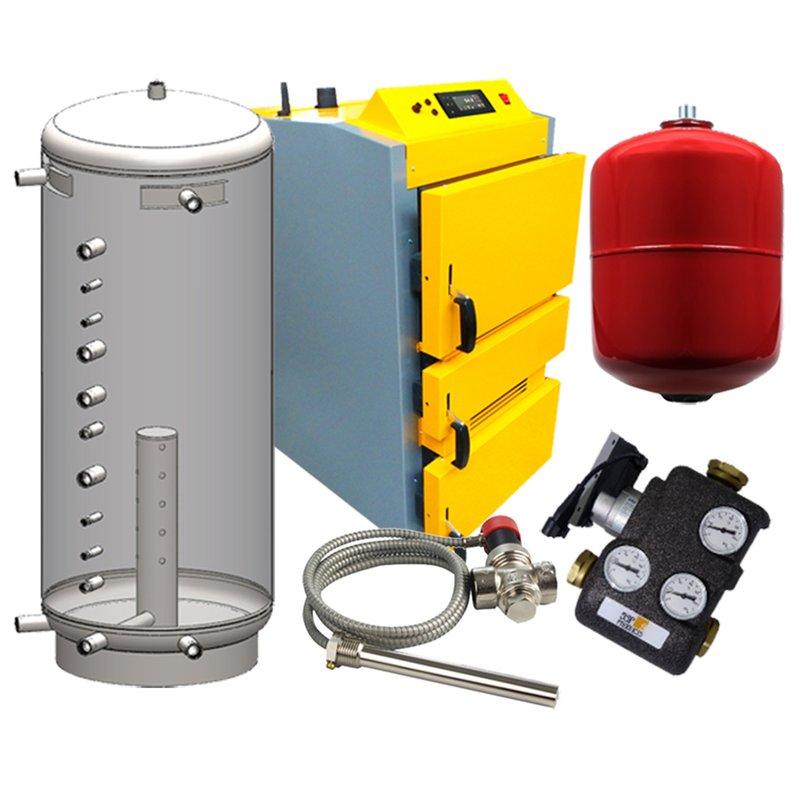 Holzvergaser Paket 5 Proburner 2.0 40 kW