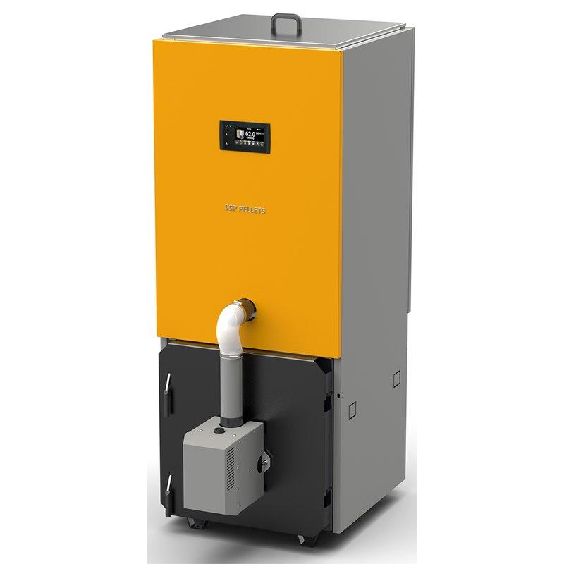 Pelletkessel SSP Pellets 20 kW
