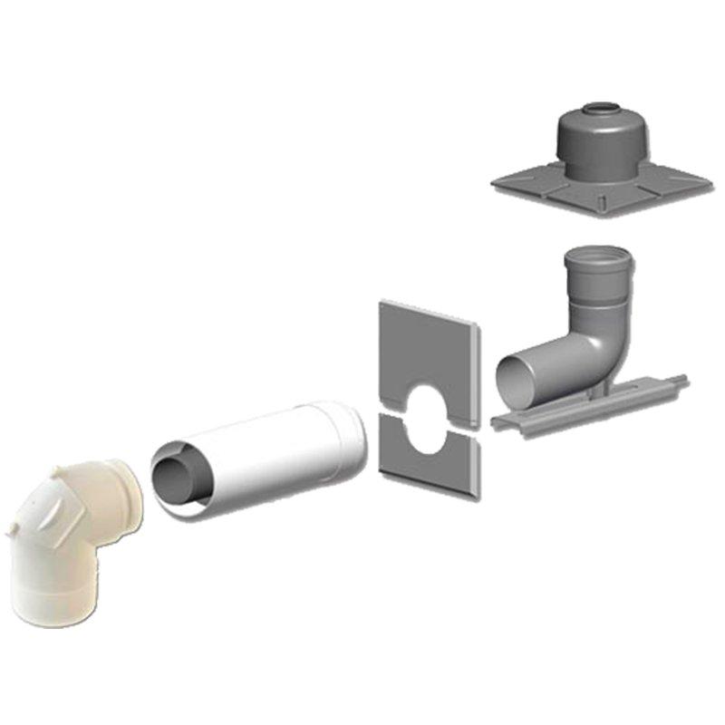 Basis-Set DN80/125 für Gas Brennwertgerät