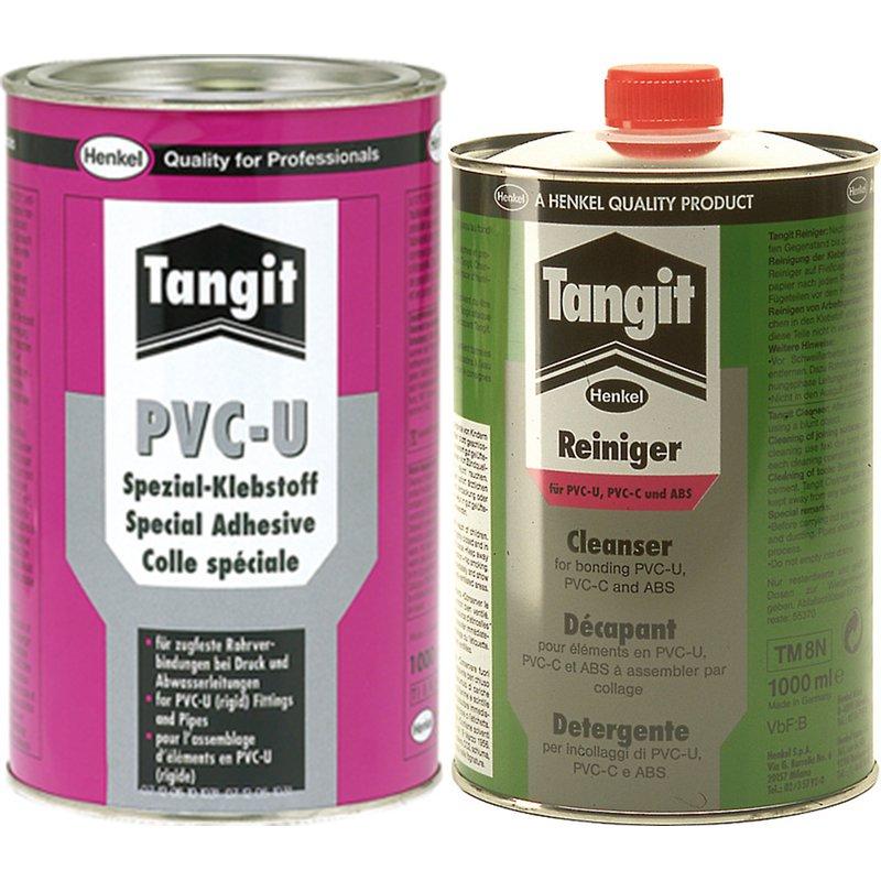 PVC Kleber und Reiniger