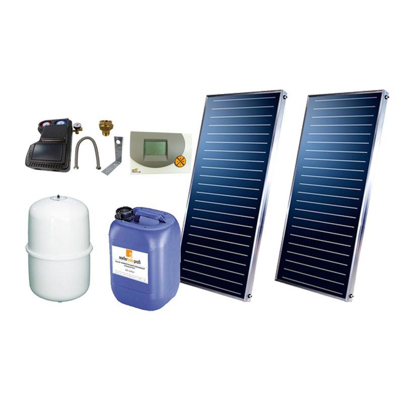 SSP Prosun Solarpaket 2, 2 Kollektoren Gesamtfläche: 4,04 m²