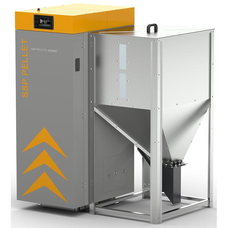 SSP Pellets Kombi 16 KW ( ohne Steiermark Zulassung )