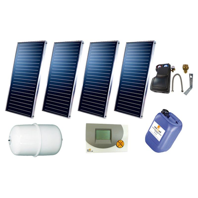 SSP Prosun Solarpaket 4, 4 Kollektoren Gesamtfläche: 8,08 m²