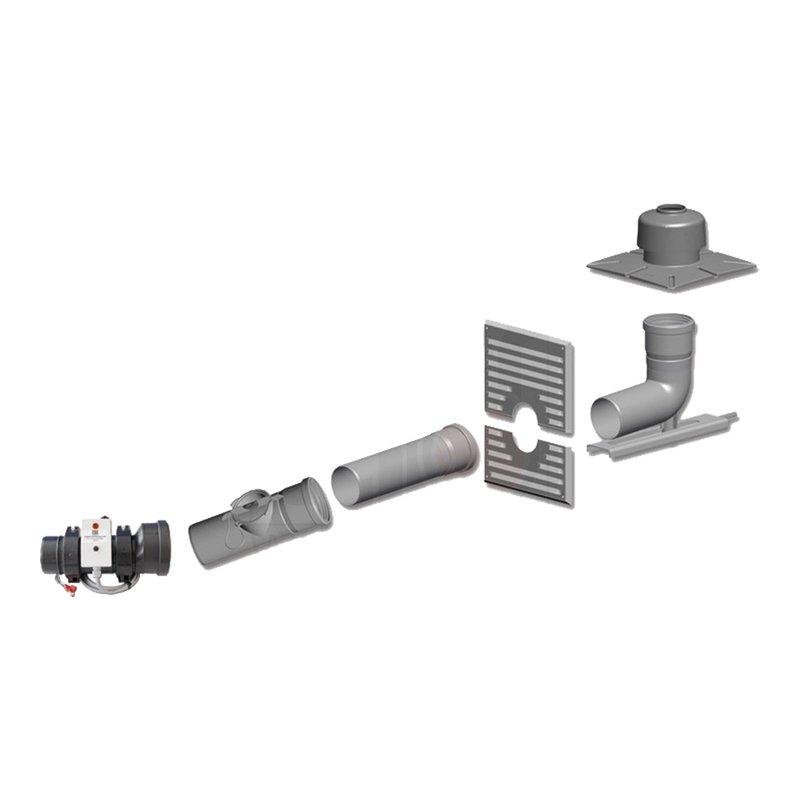 Basis-Set DN80-100 für Öl Brennwertgerät