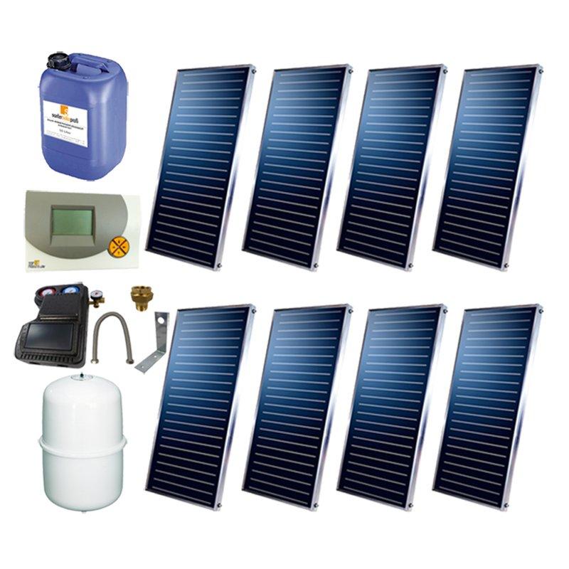 SSP Prosun Solarpaket 8, 8 Kollektoren Gesamtfläche: 16,16 m²