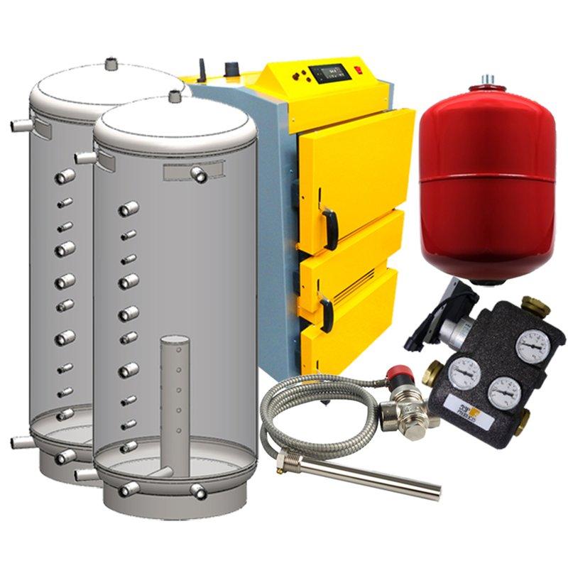 Holzvergaser Paket 6 Proburner 2.0 40 kW