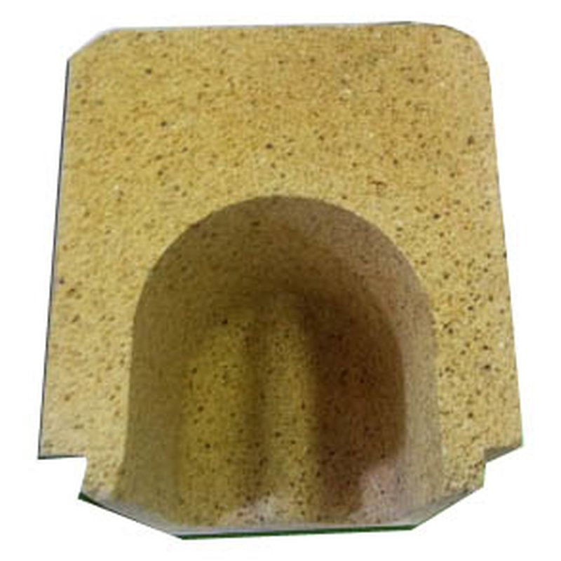 U-Profil Aschenraum ( hinterer Teil ) für Proburner 60 KW