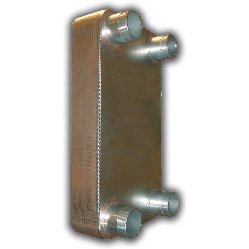Plattenwärmetauscher PWT Low Flow Typ 25-20