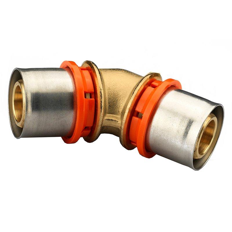 Winkelkupplung 45° 40/3,5 x 40/3,5
