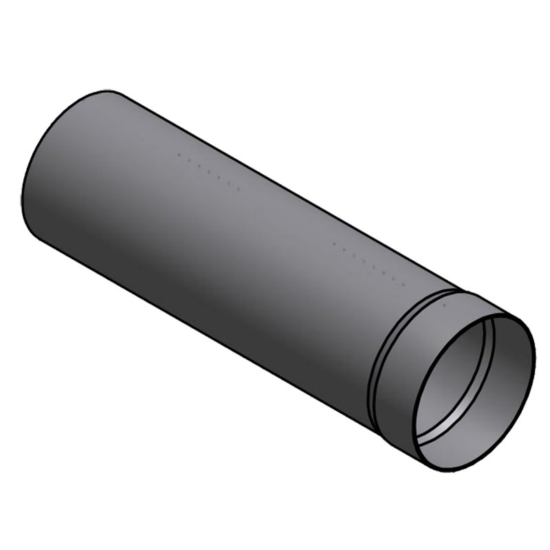 Rauchrohr DM200mm ( 500 mm Länge )
