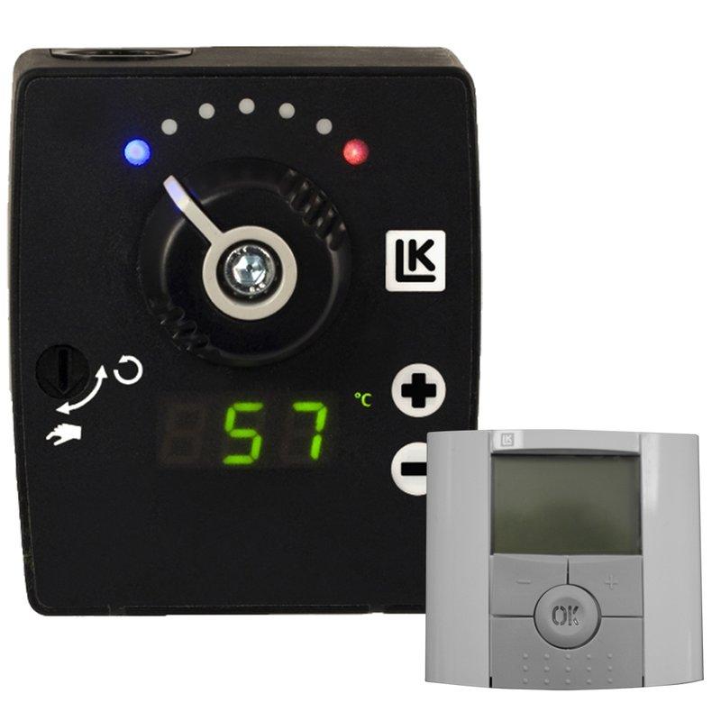 Raumtemperatur-Regler LK120 für Montage am Heizungsmischer